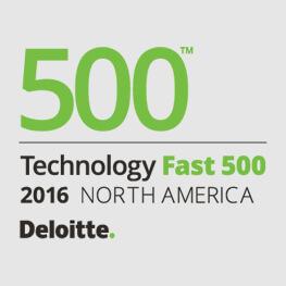 "Payoneer派安盈荣列德勤 2016 年""高科技高成长 500 强""(Technology Fast 500™) 榜单,连续五年上榜"